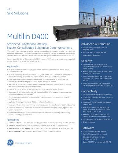 Multilin D400