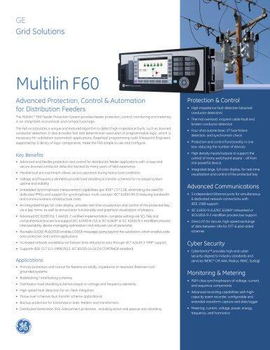 Multilin F60