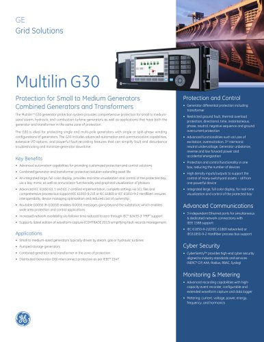 Multilin G30