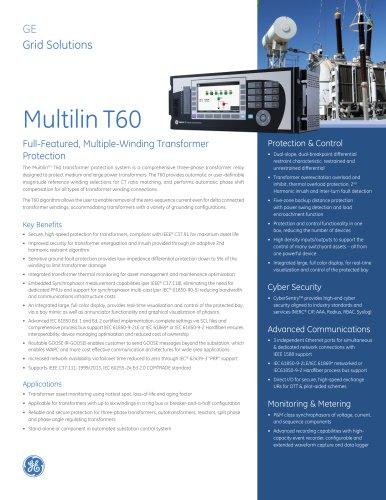 Multilin T60
