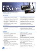 Multilin UR & UR Plus