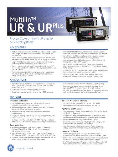 Multilin UR & UR Plus