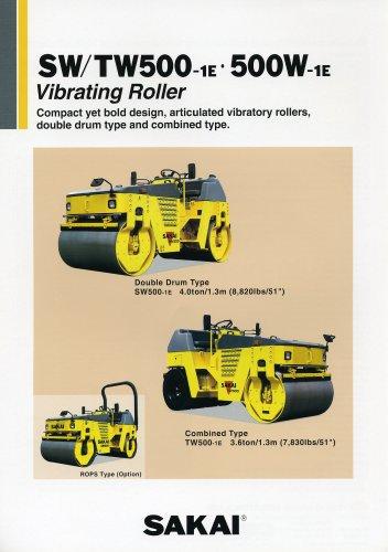 Combined roller compactor