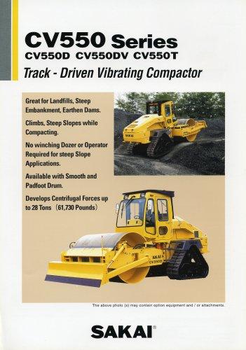 Single vibrating compactor CV550D/550DV/550T