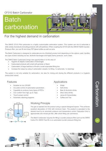 CF310 Batch Carbonator