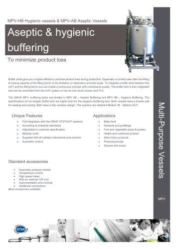 MPV Aseptic & Hygienic buffer