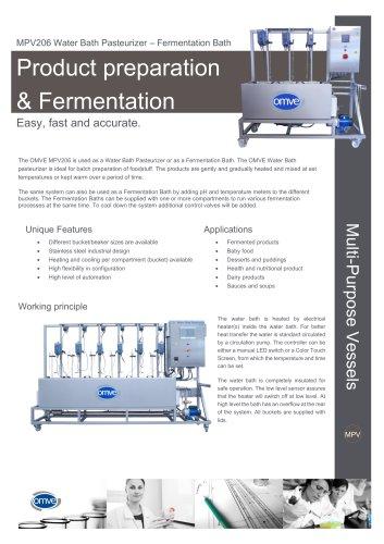 MPV206 Water Bath Pasteurizer – Fermentation Bath