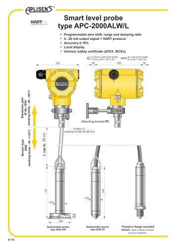 Smart level probe type APC-2000ALW/L