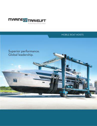 Marine Travelift Boat Hoist Brochure