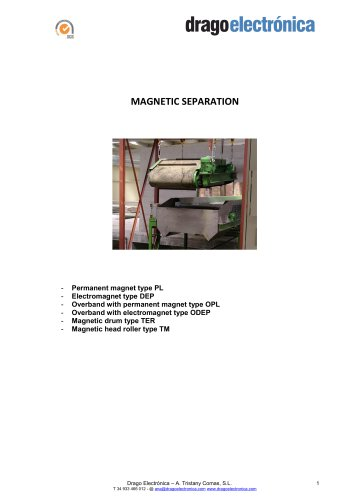 Drago Electronica MAGNETIC SEPARATION