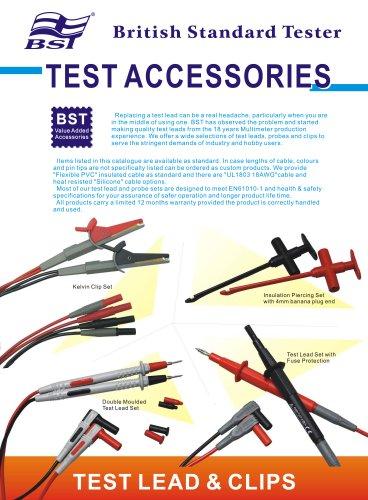BST Test Accessories Catalogue