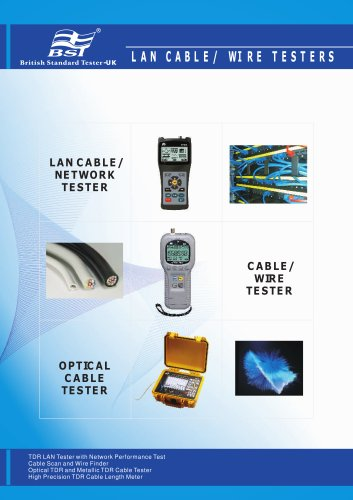 LAN Cable/ Wire Testers