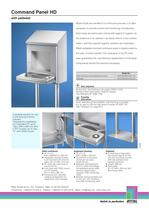 Comand Panel HD - Extra cleanliness guaranteed - 2