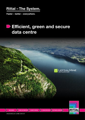 Efficient, green and secure data centre