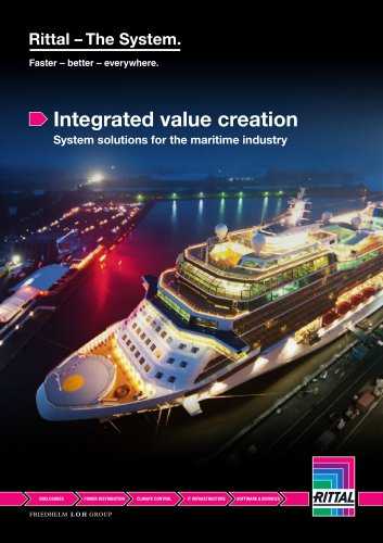 Integrated value creation - System solutions for the maritime industry