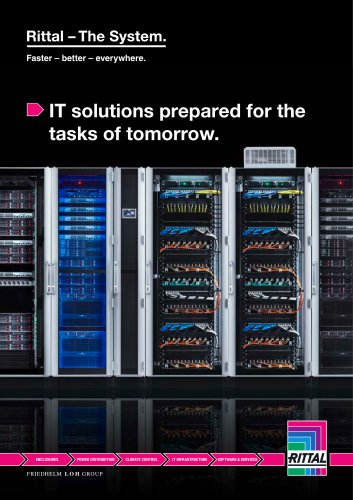 IT solutions prepared for the tasks of tomorrow.