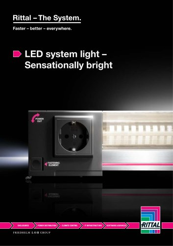 LED system light – Sensationally bright