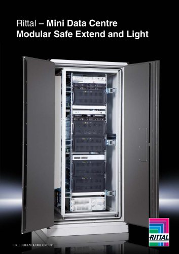 Mini Data Centre -Modular Safe Extend and Light