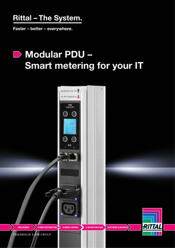 Modular PDU – Smart metering for your IT