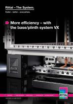 More efficiency – with the base/plinth system VX - 1