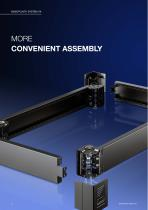 More efficiency – with the base/plinth system VX - 6