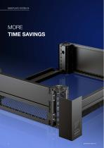 More efficiency – with the base/plinth system VX - 8