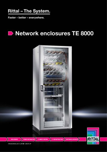 Network enclosures TE 8000