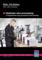 Optimise wire processing