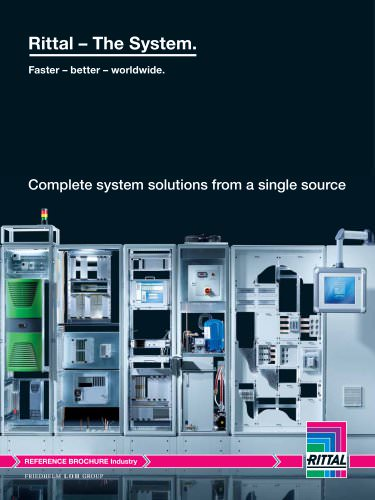 "Reference brochure ""Complete system solution from a single source"""