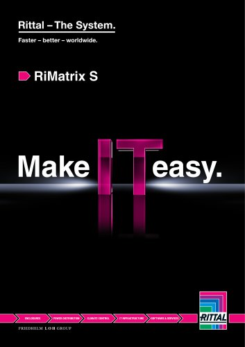 RiMatrix S-Make IT easy