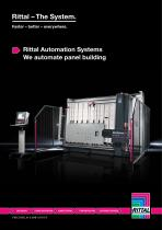 Rittal Automation Systems - We automate panel building