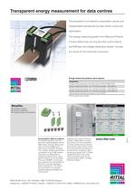Rittal and Phönix Contact - Transparent energy measurement for data centres - 2