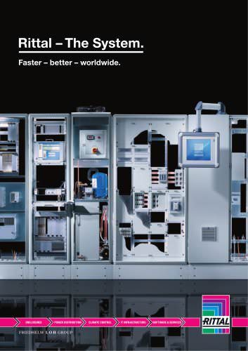 Rittal-teh system:faster -better worldwide