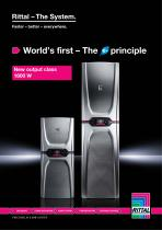 Rittal World's first - The Blue e+ principle - 1