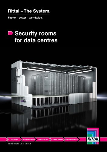 Security rooms for data centres