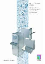 In Stainless Steel - Compact Enclosures, enclosures and support arm systems for the human/machine interface. - 1