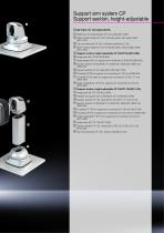 Support arm system CP, with new height-adjustable support section - 5