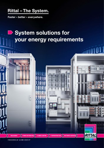 System solutions for your energy requirements