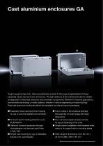 Technical System Catalogue Cast Aluminium Enclosures GA - 2