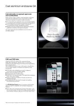 Technical System Catalogue Cast Aluminium Enclosures GA - 3