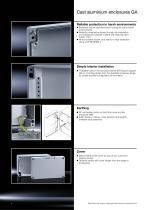 Technical System Catalogue Cast Aluminium Enclosures GA - 4