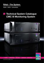 Technical System Catalogue CMC III Monitoring System - 1
