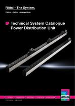 Technical System Catalogue Power Distribution Unit - 1