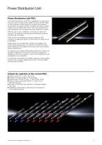Technical System Catalogue Power Distribution Unit - 3