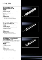 Technical System Catalogue Socket Strips - 7