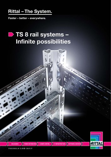 TS 8 rail systems – Infinite possibilities