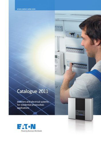 Catalogue Inverters and electrical systems for residential photovoltaic applications