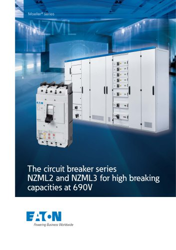 The circuit breaker series NZML2 and NZML3