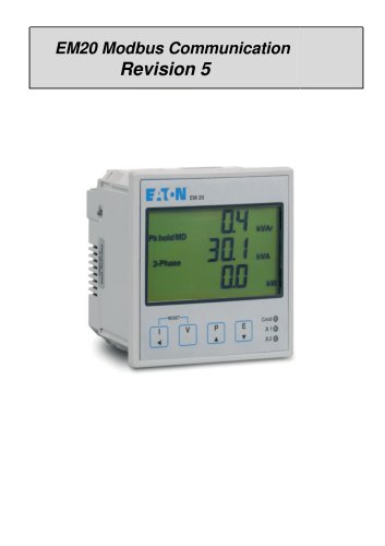 EM20 Modbus Communication