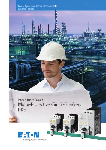 Product range catalog  Motor-Protective Circuit-Breakers PKE